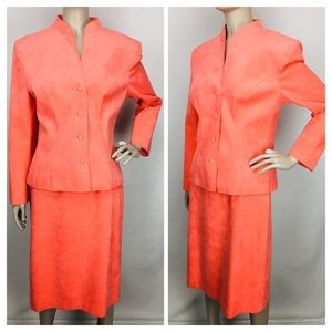 Lilli Ann by Adolph Schuman Skirt Jacket Suit